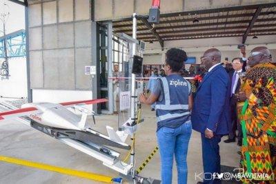 Ghana : Effectivité du projet de drones médicaux pour sauver des vies