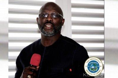Liberia : Weah retourne au bureau après l'apparition des serpents