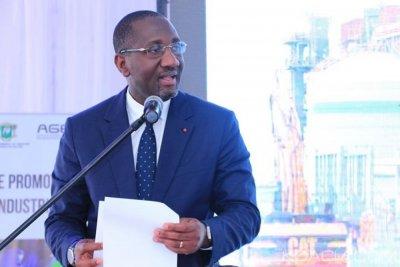 Côte d'Ivoire : Zone industrielle d'Akoupé-Zeudji, le ministre Diarrassouba rassure les chefs de la purge des droits coutumier, car l'argent est disponible