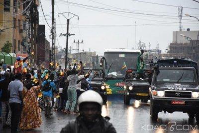 Cameroun : Ferveur populaire à l'arrivée des jeunes lions indomptables