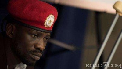 Ouganda :Le chanteur et opposant Bobi Wine inculpé et placé en détention
