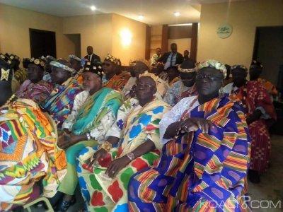 Côte d'Ivoire : Après avoir rencontré Ouattara, les chefs Atchan chez Bédié à Daoukro