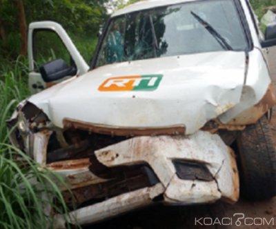 Côte d'Ivoire : La correspondante de la RTI à Man victime d'un accident, plus de peur que de mal