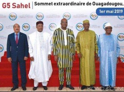 Burkina Faso : les présidents du G5 Sahel et la chancelière allemande Angela Merkel à Ouagadougou pour un sommet