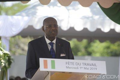 Côte d'Ivoire : Fête du travail, Abinan annonce 101 377 emplois créés en 2018 dans le public et le privé