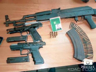 Côte d'Ivoire : A Yopougon, des échanges de tirs entre bandits et policiers font un mort, des armes saisies