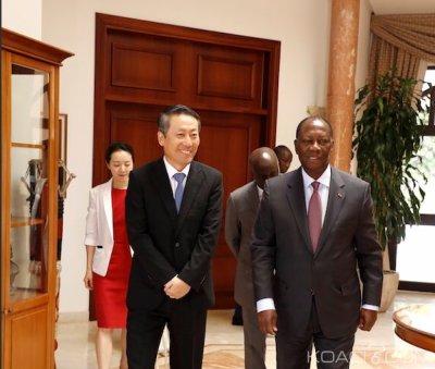 Côte d'Ivoire : En fin de mission, l'Ambassadeur de la République de Corée fait ses adieux à Ouattara