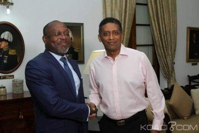 Côte d'Ivoire-Seychelles : Après sa rencontre avec le président des Seychelles, la FAFEDE déploie ses programmes de formations sur 15 îles