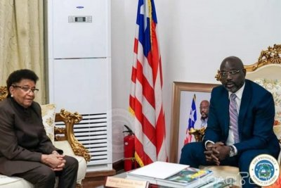 Liberia : A l'épreuve du pouvoir, Weah consulte Sirleaf pour avis