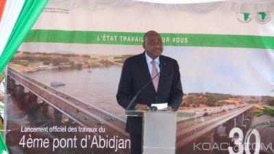 Côte d'Ivoire : Construction du 4ème pont, 13178 personnes impactées, 9922 ménages ont signé le certificat de compensation et 3385 ont déjà perçu leur indemnisation