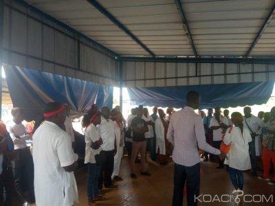 Côte d'Ivoire : Affaire malade décédé au CHR de Gagnoa, mouvement de protestation des agents de la santé, ils dénoncent un abus