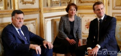 Libye:  Après sa rencontre avec Fayez al-Sarraj, Macron  réaffirme son soutien au GNA et appelle à un cessez le feu