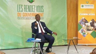 Côte d'Ivoire : Abidjan, face à la presse, Moussa Sanogo affirme que les finances du pays sont bien tenues