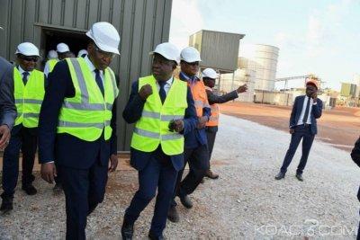 Côte d'Ivoire: A l'inauguration de l'usine de la mine d'or d'Ity, Gon révèle que la production d'or est passée de 7 tonnes en 2009 à 24,4 tonnes à fin 2018