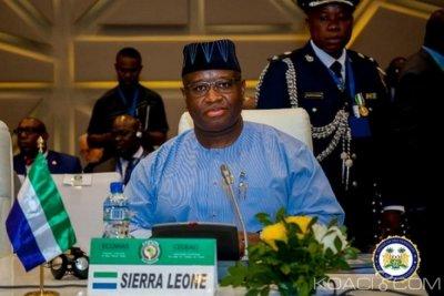 Sierra Leone : Premier remaniement ministériel de Bio, 3 ministres remerciés