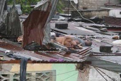 RDC: Bukavu, cinq membres d'une famille tués dans l'effondrement du mur d'une église