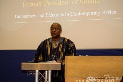 Ghana: Mahama approuve le passage du mandat présidentiel de 4 à 5 ans