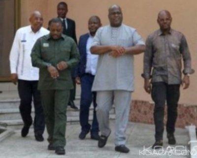 RDC: Felix Tshisekedi met en garde les gouverneurs contre la corruption , Fayulu l'appelle à divorcer d' avec Kabila