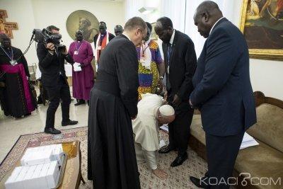 Soudan du Sud: Salva Kiir appelle Riek Machar à rentrer «à la maison» après la rencontre avec le pape