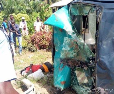 Côte d'Ivoire : Une sortie de route d'un minicar fait deux morts à Port Bouët