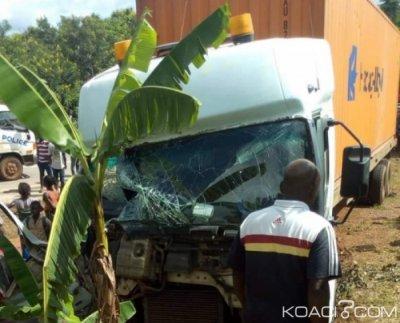 Côte d'Ivoire : Précisions sur l'accident survenu mercredi à Agnibilékrou faisant  trois morts