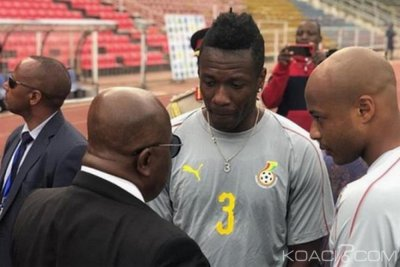 Ghana : Black Stars, Akufo-Addo prie Asamoah Gyan d'annuler son retrait, réponse du joueur attendue