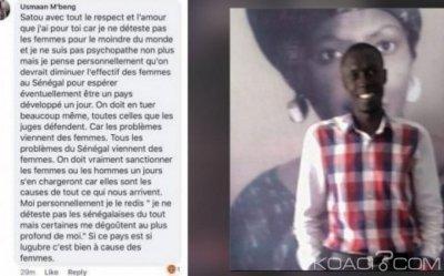 Sénégal : Un individu arrêté pour avoir appelé à l'extermination des femmes dans le pays