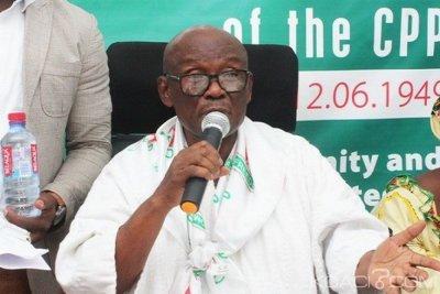 Ghana : Après un appel royal, Edmond Delle quitte la présidence du parti CPP