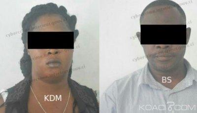 Côte d'Ivoire : Un homme et une Dame interpellés pour complicité et tentative de fraude sur compte bancaire