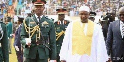 Gambie:  Huit soldats condamnés à de lourdes peines pour complot contre le président Barrow