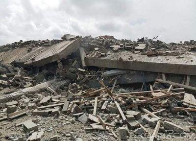 Côte d'Ivoire : L'immeuble en construction à Angré s'est  totalement effondré, aucune  victime déplorée