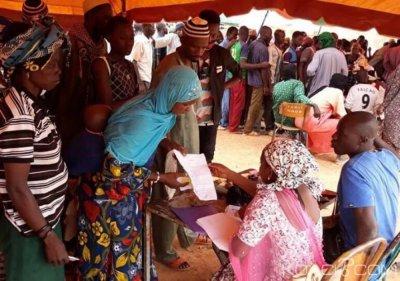 Burkina Faso : 17400 personnes déplacées secourus par la Croix-Rouge