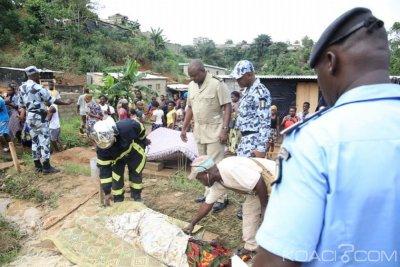 Côte d'Ivoire : Drame à Yopougon, les autorités sur les lieux pour encourager pompiers, forces de Police et apporter réconfort aux familles