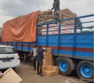 Côte d'Ivoire : Yamoussoukro, un camion de faux médicaments contenus dans des cartons de boissons intercepté, un pharmacien cité