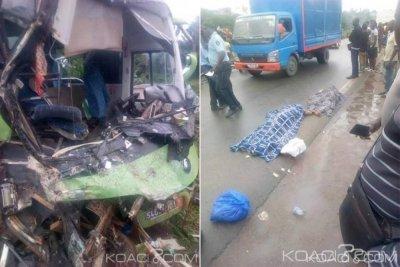 Côte d'Ivoire : En partance à une rencontre avec le secrétariat exécutif, le permanent PDCI-RDA de Transua sort blessé d'un accident qui laisse 2 morts