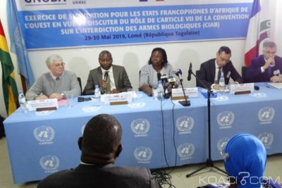 Togo: Armes biologiques, exercice de simulation à Lomé
