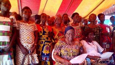 Côte d'Ivoire: Région de Gbêkê, confusion totale dans le Faafouè-Gossan, nanan N'Goran Koffi Il contesté par des femmes du canton