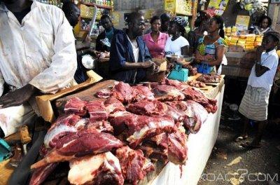 Côte d'Ivoire : Hausse légère du prix de la viande de bœuf  à Abidjan