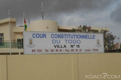 Togo : Cour constitutionnelle, irrecevabilité de la requête de l'ANC pour annulation des réformes
