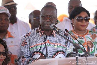 Côte d'Ivoire : Ahoussou annonce depuis Didiévi que «le peuple Baoulé ne mérite pas d'être l'otage d'un jeu politique malsain ou d'un marchandage somme toute indigne »