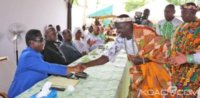 Côte d'Ivoire: Depuis Daoukro, Bédié aux chefs de Didiévi «tournons la page Ahoussou Jeannot, le démocrate que je suis, reste sans voix»