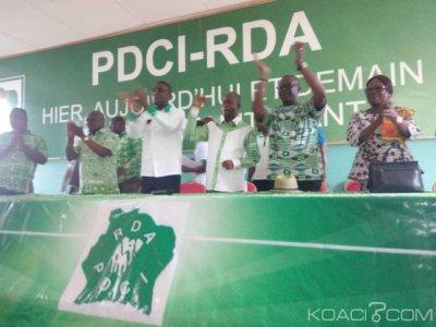 Côte d'Ivoire: En tournée à Abengourou, Valentin Kouassi «déculotte» Ahoussou, Adjoumani, Abinan et déclare la guerre au RHDP