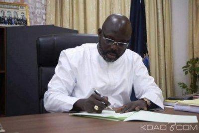Liberia : Restriction de voyages pour les ministres et officiels