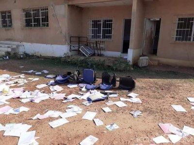 Côte d'Ivoire: À Zuenoula, des jeunes saccagent la préfecture, ils dénoncent l'assassinat d'un chef du village, des maisons incendiées