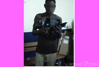 Côte d'Ivoire : Grand Bassam, un spécialiste en vol de boutons de commande de vitres de voiture interpellé par la police
