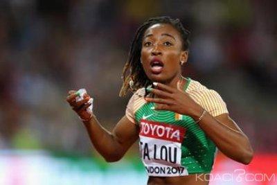 Côte d'Ivoire : Grosse déception pour Ta Lou à la ligue de diamant à  Rome