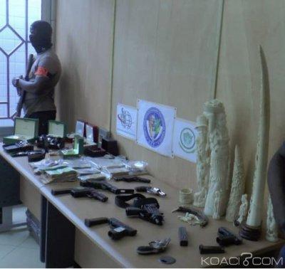 Côte d'Ivoire : Réseau international de trafiquants 06 Italiens, 01 Franco-turque et 03 Ivoiriens interpellés en possession de drogue, armes, véhicules et montres