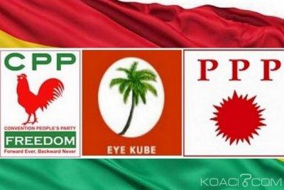 Ghana : Présidentielle 2020, trois partis optent pour une candidature unique contre la bipolarisation