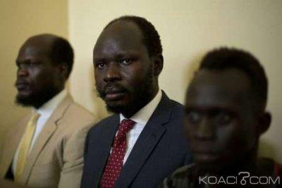 Soudan du Sud :  Un défenseur des droits de l' homme écope de deux ans de prison pour espionnage