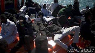 Libye: Navire bloqué en mer, l'Italie autorise le débarquement de 10 migrants dont des femmes enceintes